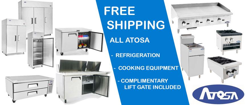 Shop all our Atosa Refrigeration