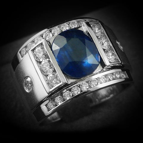Men's Gem Rings