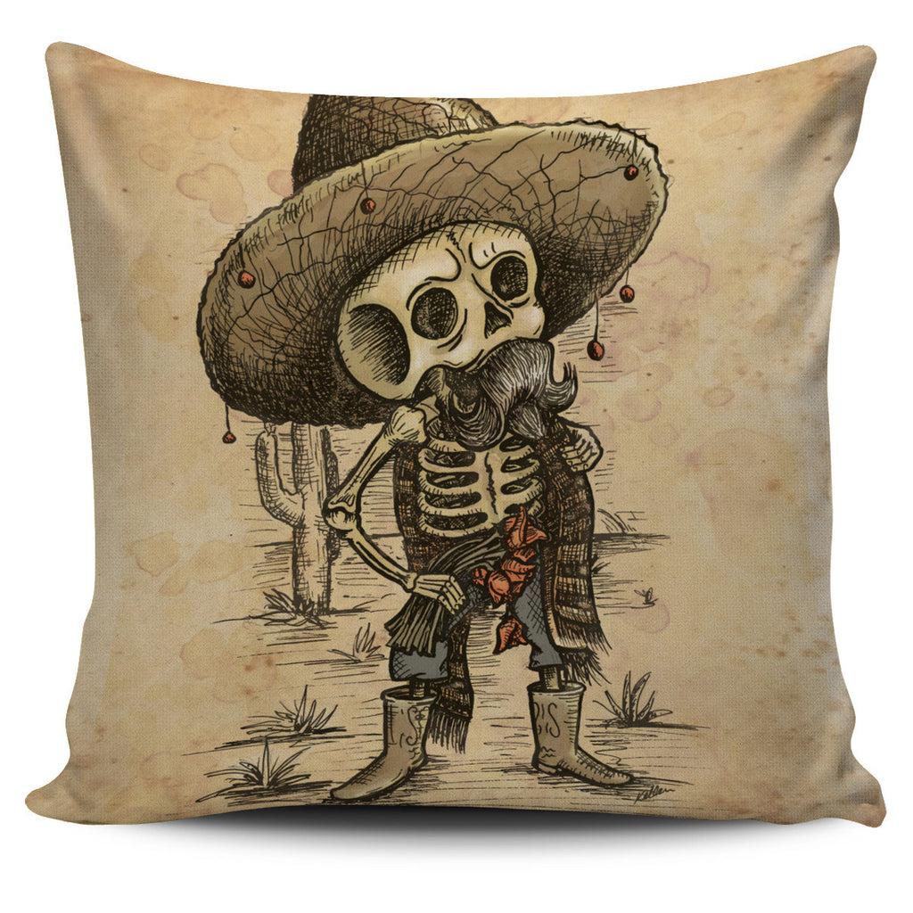 2012eb8d8dc ... Day of the Dead Skeleton Throw Pillow Cover - MyGearGlobal ...