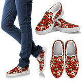 Day of the Dead Desert Cat Women's Slip-on Shoes