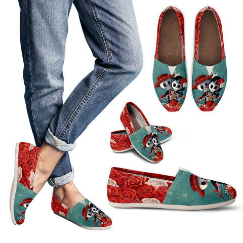 Day of the Dead Couple 2 Women's Casual Shoe - MyGearGlobal