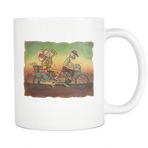 Day of the Dead Skeleton 11oz Coffee Mugs