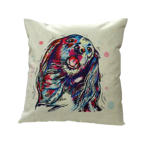 Long Haired Dachshund Throw Pillow Cover FREE Offer - MyGearGlobal