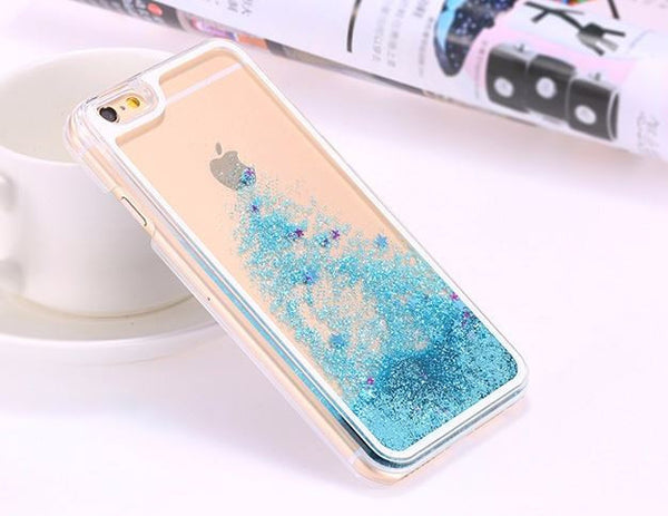 Star Liquid Glitter iPhone 6/6s Case - MyGearGlobal
