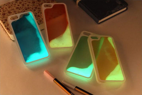 Glow In the Dark Glitter iPhone 6/6s/6 Plus/6s Plus Case - MyGearGlobal