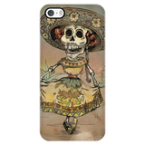 Day of the Dead Senora Skeleton Phone Cases - MyGearGlobal