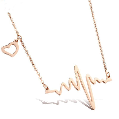 Heartbeat Necklace - MyGearGlobal