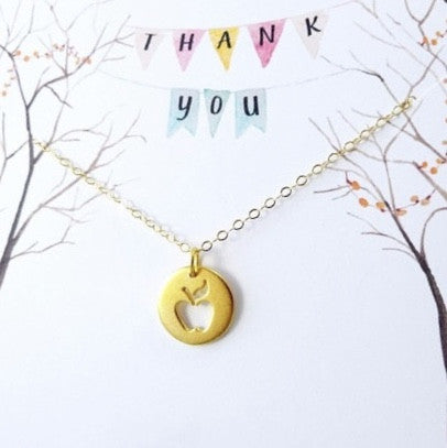 Apple Teacher Necklace FREE Offer - MyGearGlobal