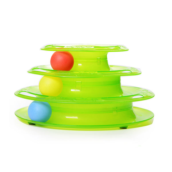 Tower of Tracks Cat Toy - MyGearGlobal