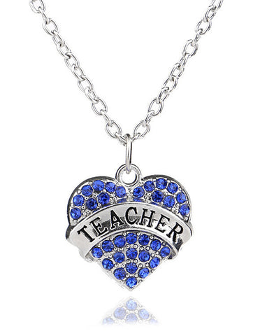 Teacher Heart Necklace FREE Offer - MyGearGlobal