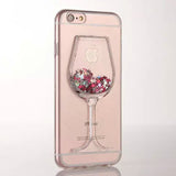Wineglass Stars & Glitter iPhone 6/6s Case