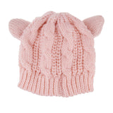 Cat Ears Knitted Beanie FREE Offer - NEW COLORS!