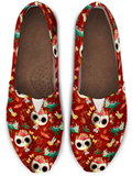 Day of the Dead Desert Cat Women's Casual Shoe