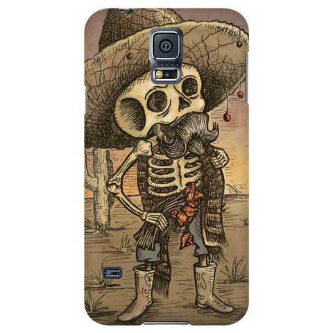 Day of the Dead Senor Skeleton Phone Cases