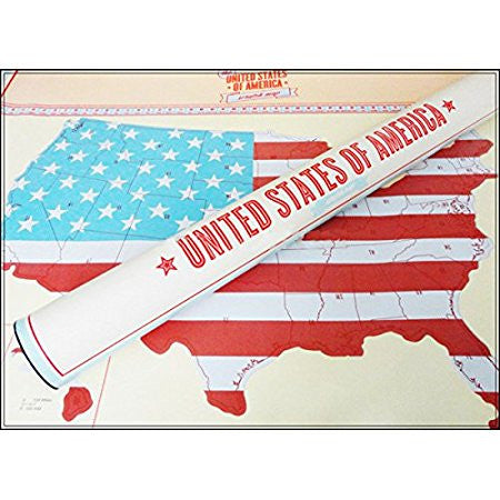 Holiday Road USA Scratch Map - MyGearGlobal