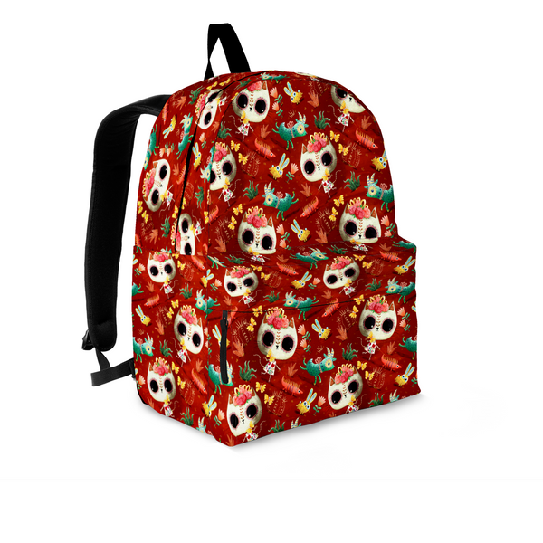 Day of the Dead Desert Cat Backpack - MyGearGlobal