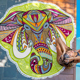 Colorful Elephant Tapestry - MyGearGlobal