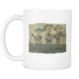 Day of the Dead Skeleton 11oz Coffee Mugs - MyGearGlobal
