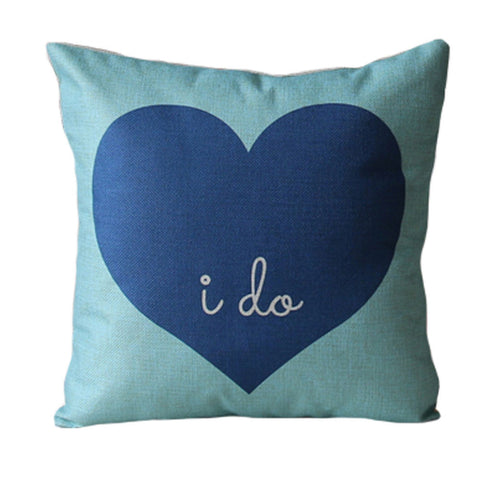 """I Do"" Pillow Cover - MyGearGlobal"
