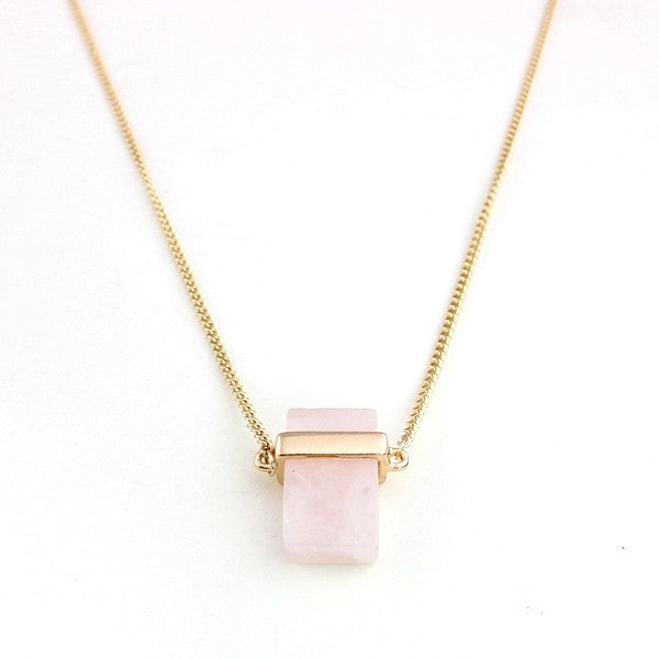 Quartz Pendant Necklace - MyGearGlobal