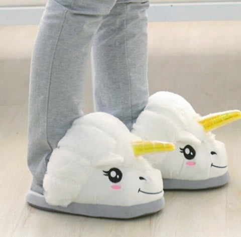 Unicorn Puffy Slippers - MyGearGlobal