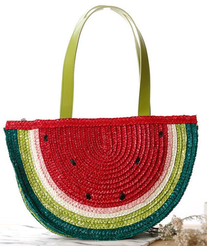 Watermelon Straw Tote Bag - MyGearGlobal