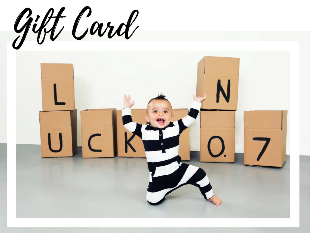 DIGITAL GIFTCARD - Lucky No.7