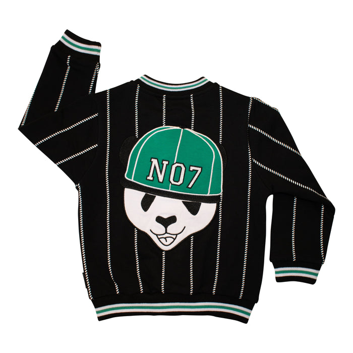 PANDA BASEBALL JACKET - Lucky No.7