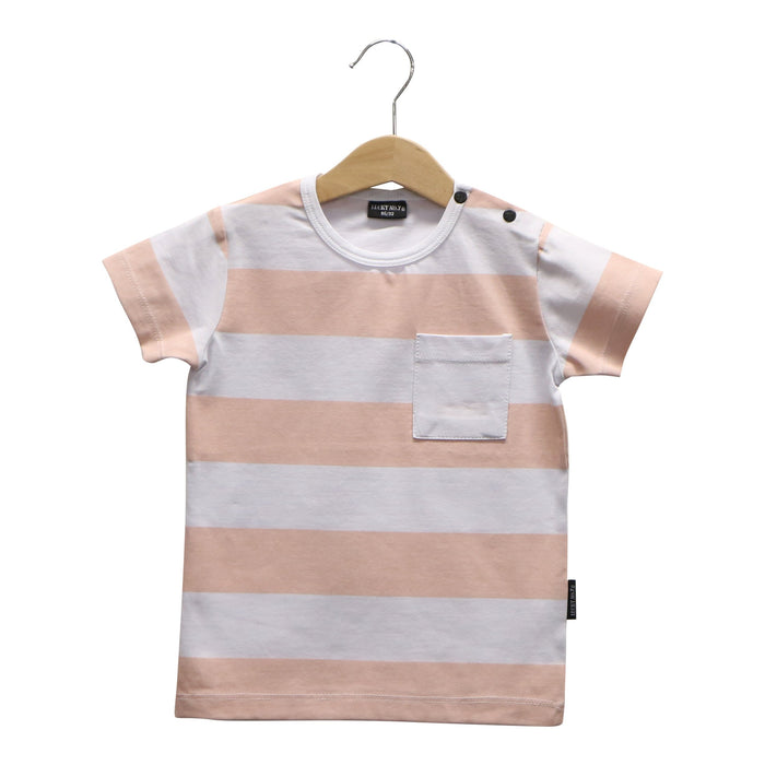 BLUSH PINK BANDIT T-SHIRT - Lucky No.7