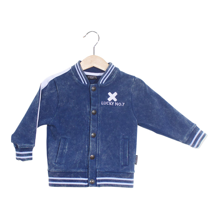DENIM BOMBERJACKET - Lucky No.7