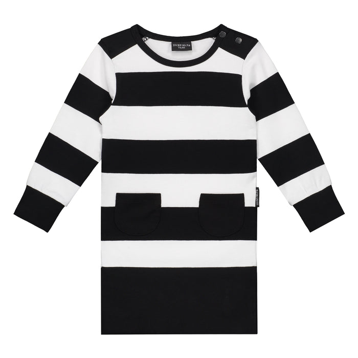 LITTLE BANDIT DRESS - Lucky No.7