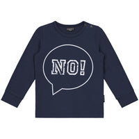 NO! DENIM BLUE LONGSLEEVE - Lucky No.7