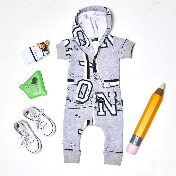 PLAYGROUND ONESIE - Lucky No.7