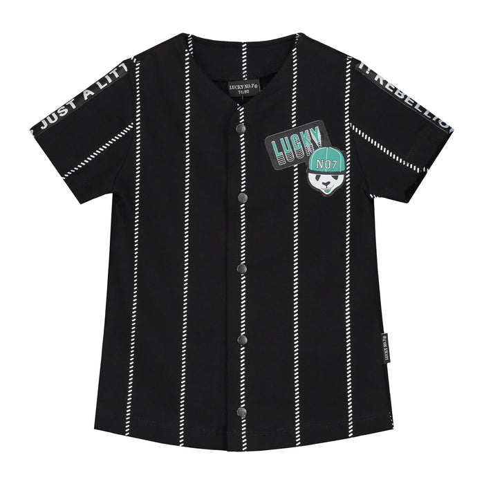 BASEBALL LONG T-SHIRT - Lucky No.7