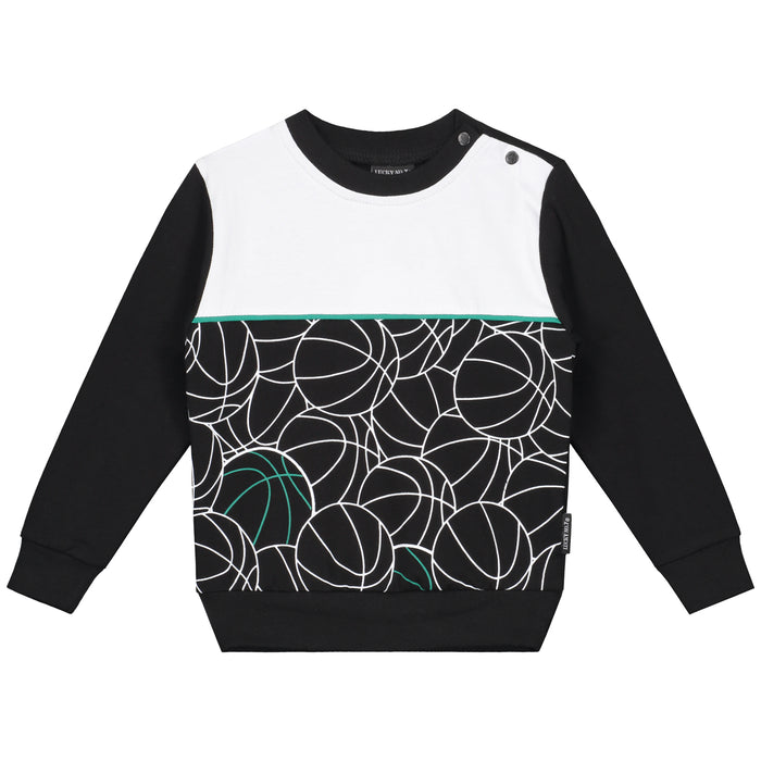 OVERSIZED LONGSLEEVE WITH SLAM DUNK PRINT - Lucky No.7