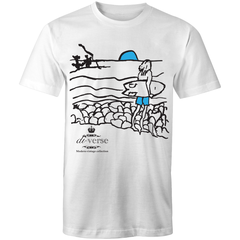 MV-Fishin AS Colour Staple - Mens T-Shirt