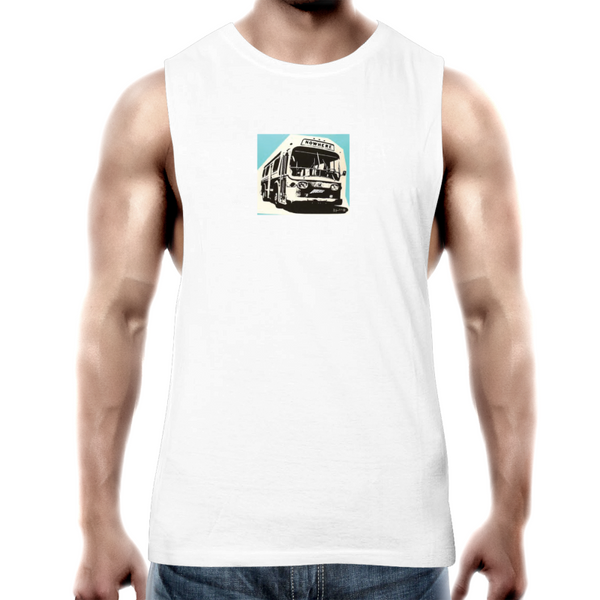 Bus to Nowhere - Mens Tank Top Tee