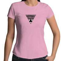 Astral Tracer - AS Colour Wafer - Womens Crew T-Shirt