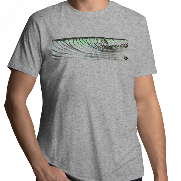 Wave drawn - Sportage Surf - Mens T-Shirt