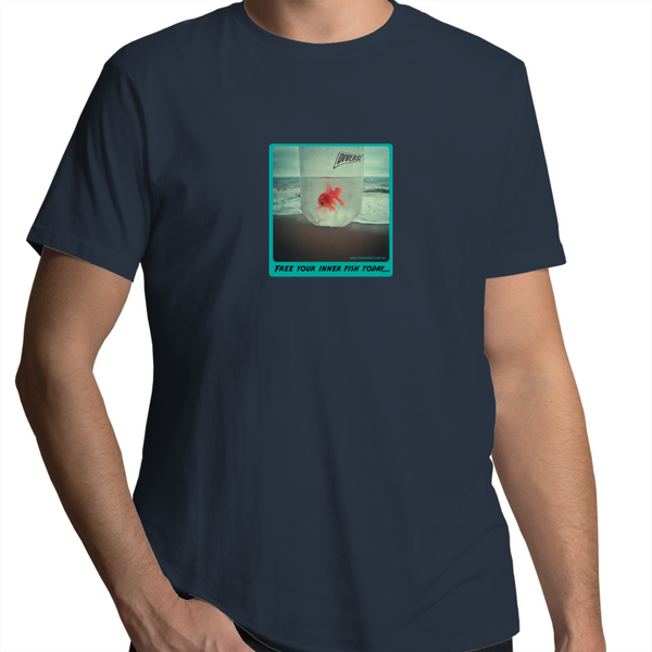 Free your inner fish- Sportage Surf - Mens T-Shirt