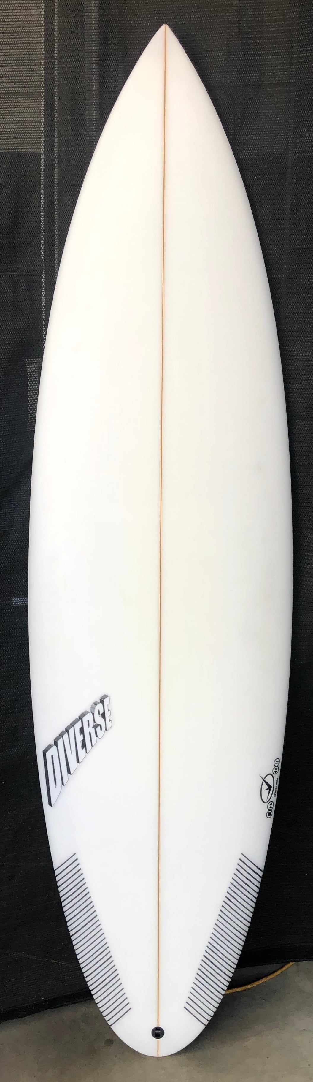 6'1 Strike Mission Step up performance PU Shortboard