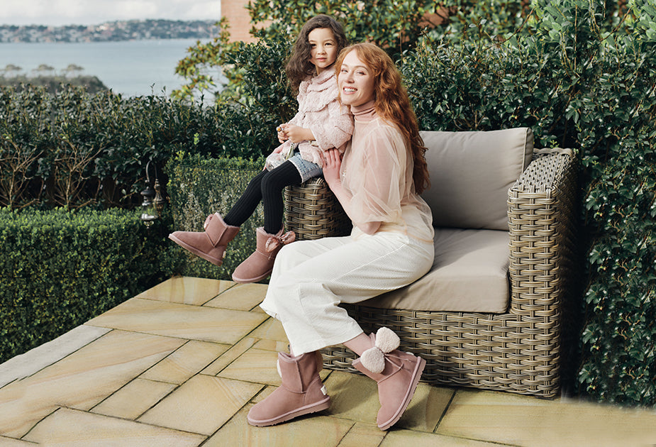 Matchy Matchy: 5 matching ugg boot styles you can wear with your kids!