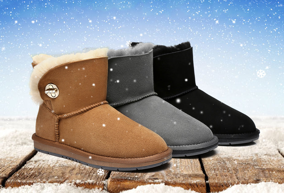 Can you wear ugg boots in the snow?