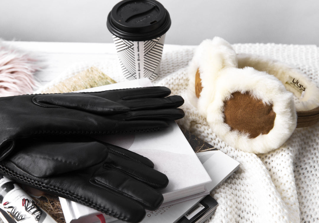 leather gloves for ski season