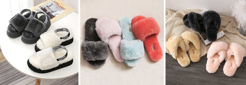 fluffy sandals in melbourne