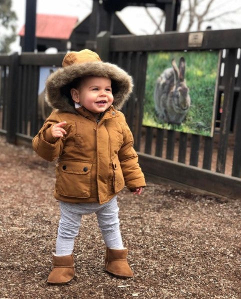 brown ugg boots for babies