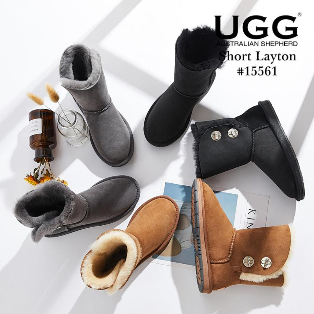 black ugg boots, brown ugg boots, and grey ugg boots