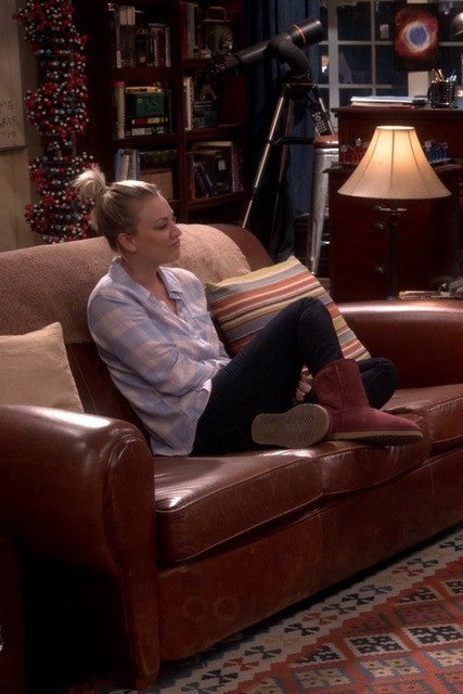 big bang theory penny uggs