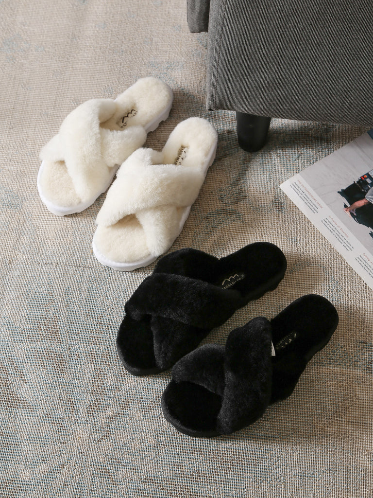 fluffy slides for christmas