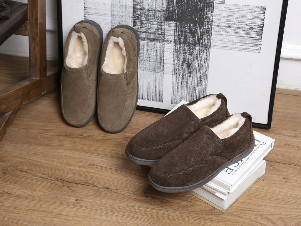 sheepskin scuffs for men